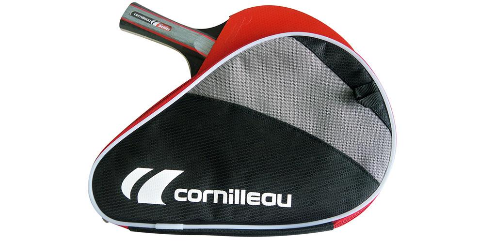 Pack raquette de ping pong solo cornilleau 3 balles 1 - Housse de protection table de ping pong cornilleau ...