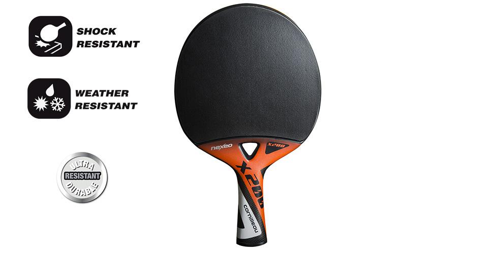 Raquette DE PING Pong Cornilleau NEXEO X200 Graphite