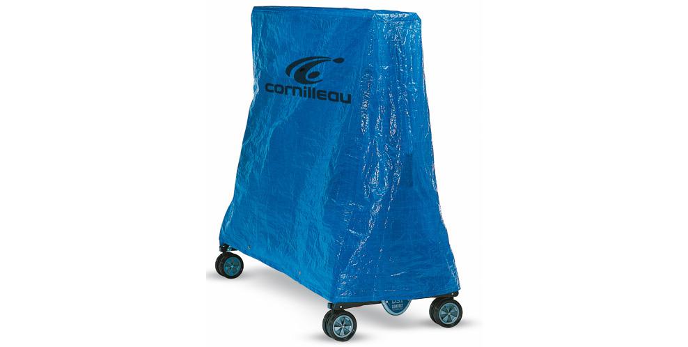 Housse sport bleue cornilleau for Housse table de ping pong exterieur