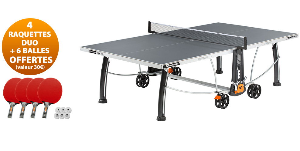 Table ping pong cornilleau sport 300 s crossover exterieur for Table de ping pong cornilleau exterieur
