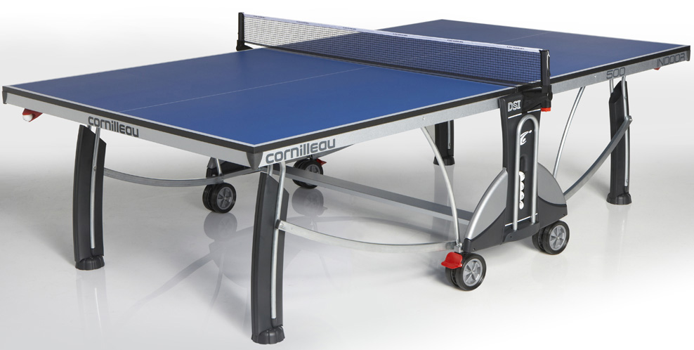 Table ping pong cornilleau 500 interieur indoor loisir - Table ping pong cornilleau exterieur ...