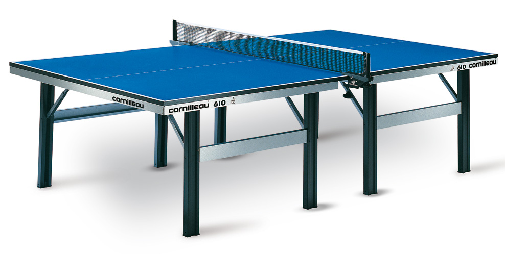 Table ping pong cornilleau 610 ittf indoor competition pro - Table de ping pong exterieur en solde ...