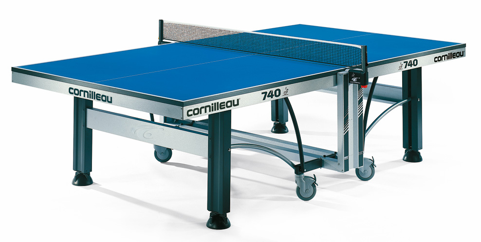 Table ping pong cornilleau 740 ittf indoor competition pro - Table de ping pong exterieur occasion ...