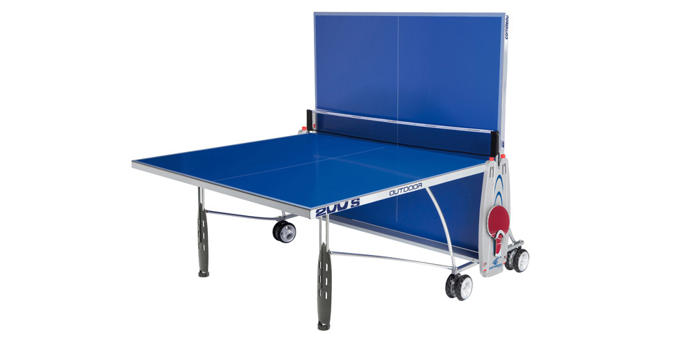 Table ping pong ext rieure en b ton photo 2 pictures for Housse exterieur table ping pong