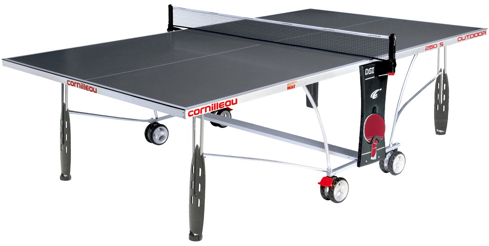 Table ping pong cornilleau sport 250 s exterieur outdoor for Table de ping pong cornilleau exterieur