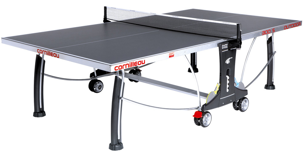 Table ping pong cornilleau 300 s exterieur outdoor loisir for Housse exterieur table ping pong