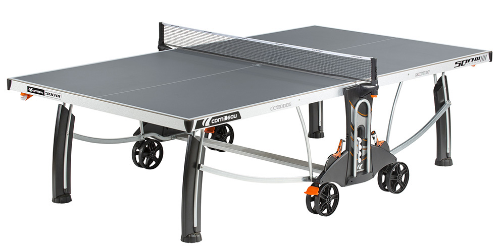 Table ping pong cornilleau sport 500 m crossover exterieur outdoor loisir - Table ping pong exterieur beton ...