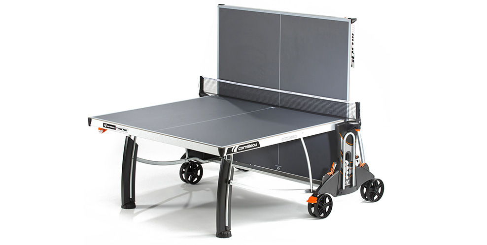Table ping pong cornilleau sport 500 m crossover exterieur for Housse exterieur table ping pong