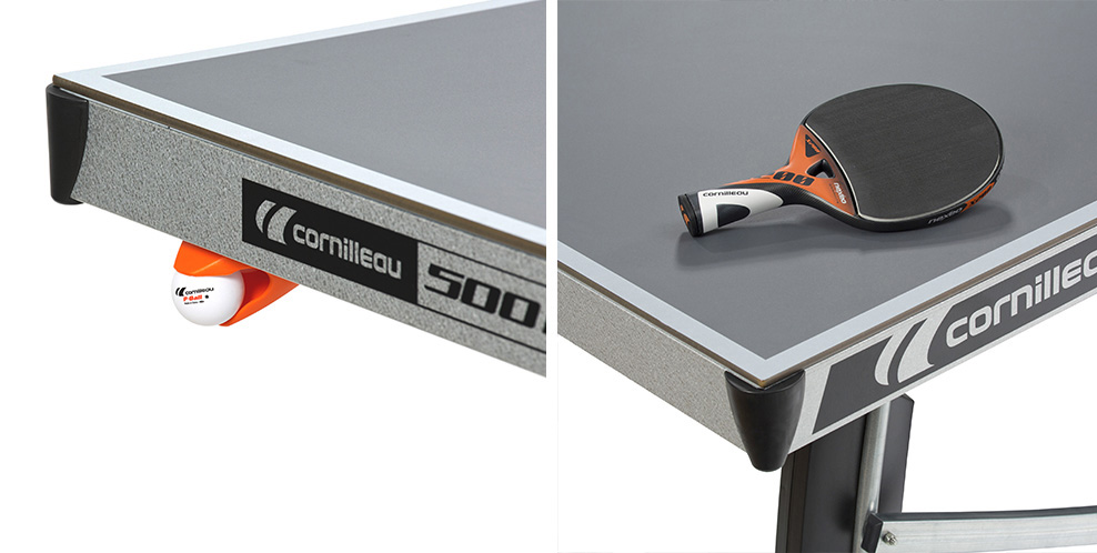Table ping pong cornilleau sport 500 m crossover exterieur - Table de ping pong outdoor cornilleau ...