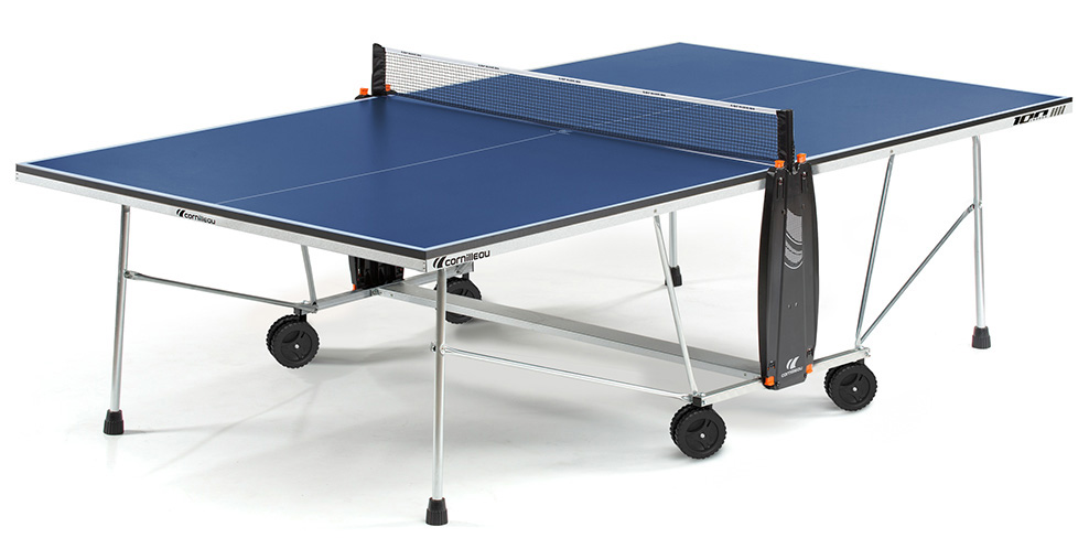 Table ping pong cornilleau sport 100 interieur indoor loisir - Table ping pong cornilleau exterieur ...