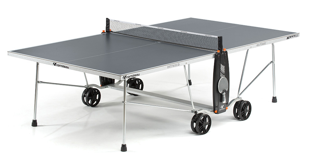 Table ping pong cornilleau sport 100 s crossover exterieur outdoor loisir - Table ping pong exterieur beton ...