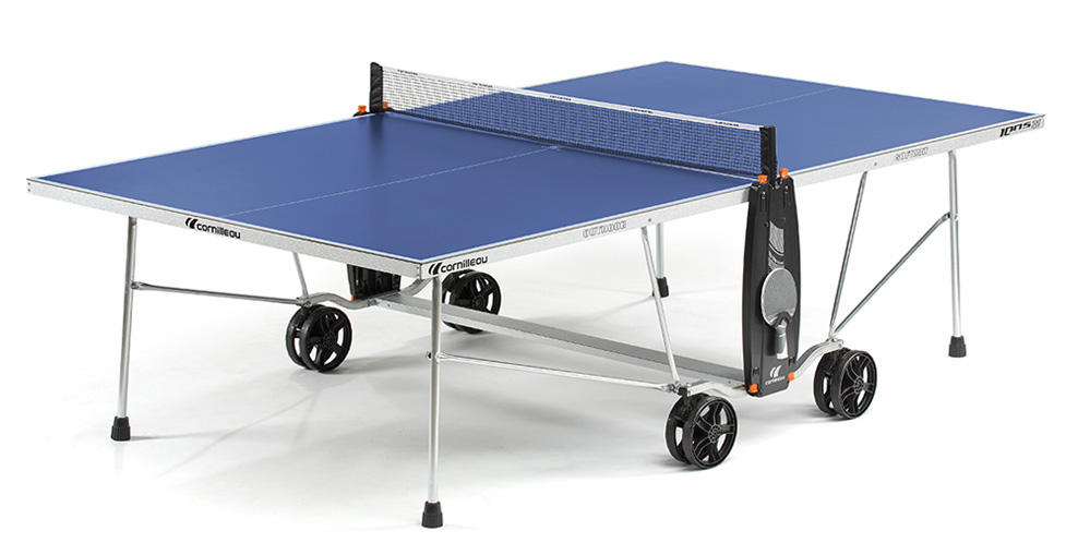 Table ping pong cornilleau sport 100 s crossover exterieur for Housse exterieur table ping pong