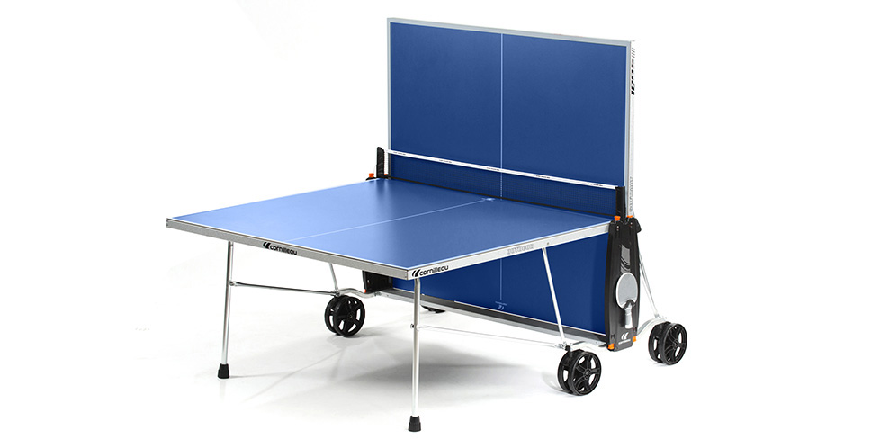Table ping pong cornilleau sport 100 s crossover exterieur outdoor loisir - Table de ping pong sponeta ...