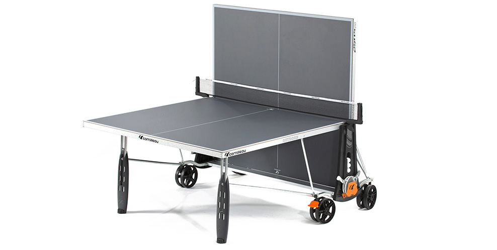 Table ping pong cornilleau sport 250 s crossover exterieur for Housse table de ping pong exterieur