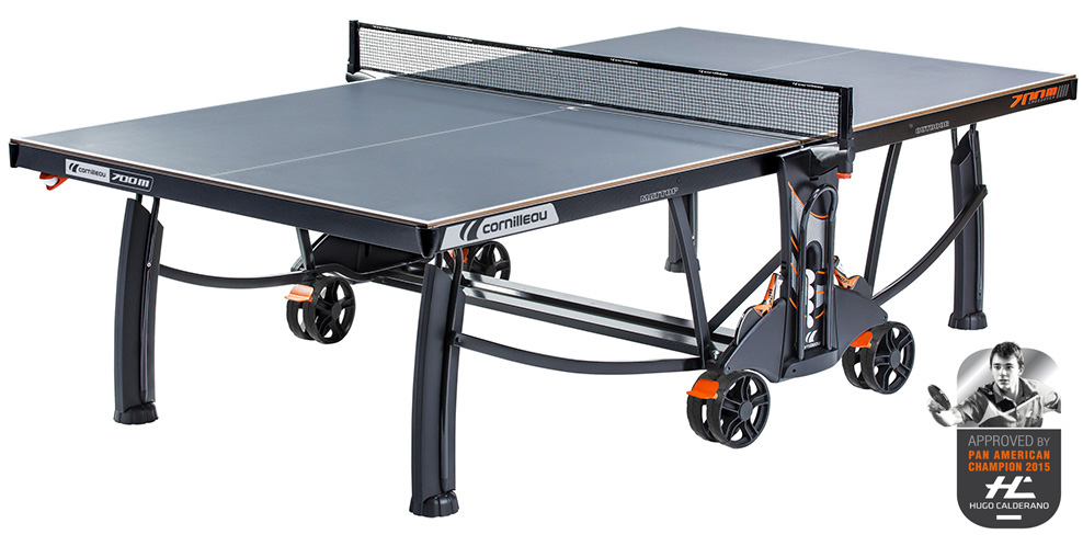 Table ping pong cornilleau 700 m crossover exterieur outdoor loisir - Table ping pong exterieur beton ...
