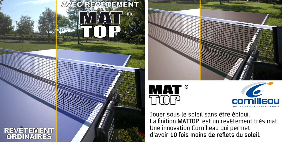 outdoor ping exterieur pong M Table CROSSOVER Cornilleau 700 PuZkiX