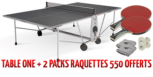 Table ping pong exterieur outdoor cornilleau loisir for Table exterieur grise