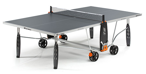 double folding indoor outdoor table tennis table game table ping pong exterieur. Black Bedroom Furniture Sets. Home Design Ideas