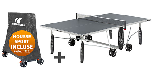 Table ping pong exterieur outdoor cornilleau loisir for Housse table de ping pong exterieur